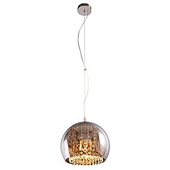Home Collection - Large crystal glass 'Jenna' pendant ceiling light