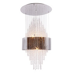 Home Collection - Crystal glass 'Zara' pendant ceiling light