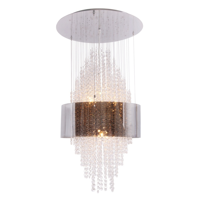 Home Collection Crystal Glass Zara Pendant Ceiling Light