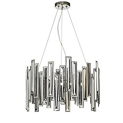 Home Collection - Crystal glass 'Neave' pendant ceiling light