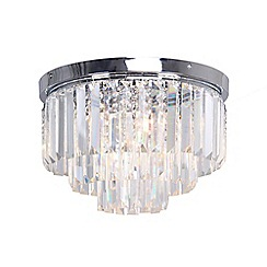 Home Collection - 'Melody' flush ceiling light