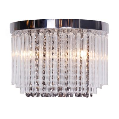 Debenhams Novelty Lighting : Home Collection Charlie flush ceiling light Debenhams