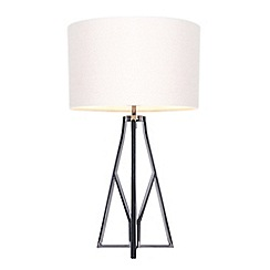 Home Collection - Gunmetal Tripod 'Frank' Table Light