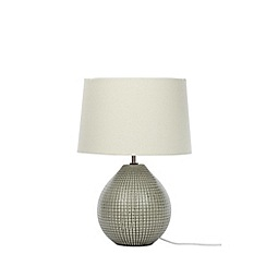 Home Collection - Green Ceramic 'Laura' Table Lamp