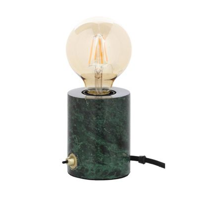 J By Jasper Conran Green Marble Table Lamp With Led Bulb Debenhams