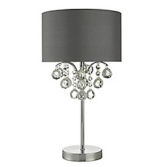 Home Collection - Crystal Glass 'Grace' Table Lamp