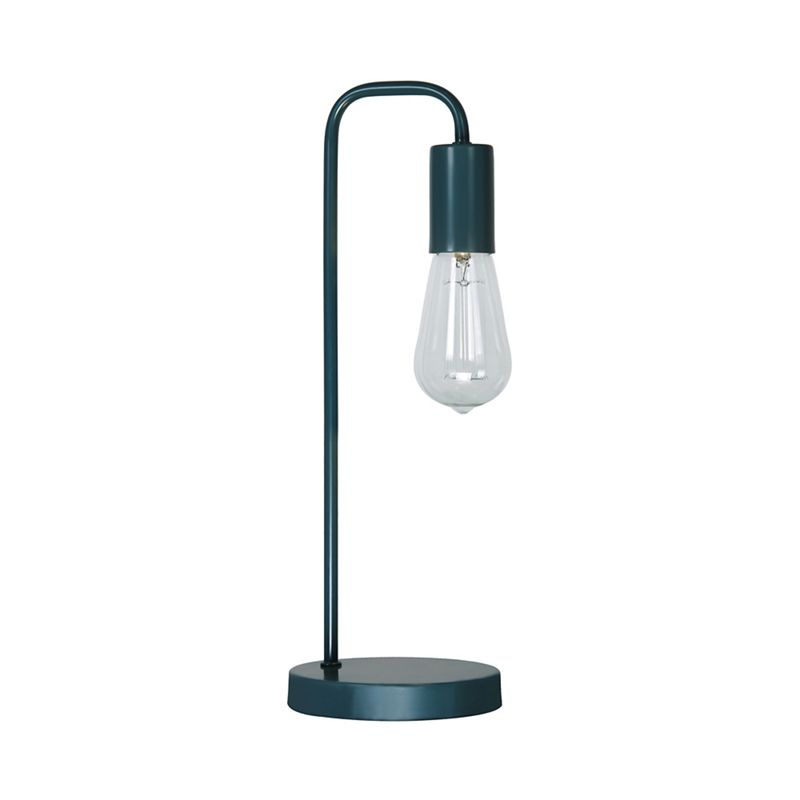 Home Collection – Teal Metal 'Macy' Table Light