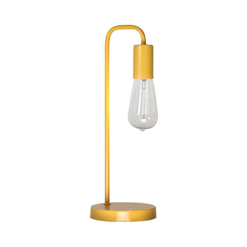Home Collection – Yellow Metal 'Macy' Table Light