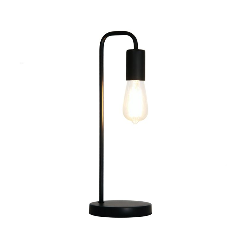 Home Collection – Metal Black 'Macy' Table Light