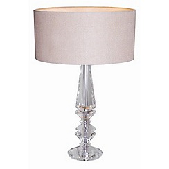 Home Collection - Grace Crystal Glass Table Light