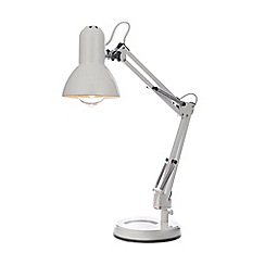 Home Collection - Vincent White Metal Task Table Light