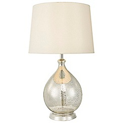 Home Collection - Sara Champagne Glass Table Light