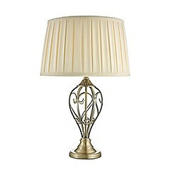 Home Collection - Eden Antique Brass Metal Table Light