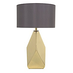 Home Collection - Braxton Gold Metal Table Light