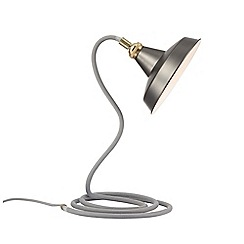 Home Collection - Maxwell Grey Metal Table Light