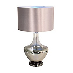 Home Collection - Aurora Champagne Glass Table Light