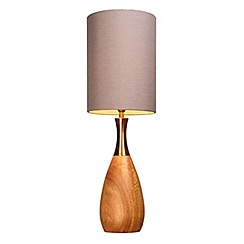 Home Collection - Wood 'Omar' table light