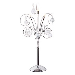Home Collection - 'Mary' Clear Crystal Glass Table Light