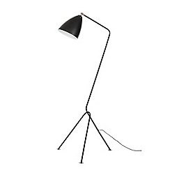 Home Collection - Black and Copper Metal 'Dexter' Tripod Floor Lamp