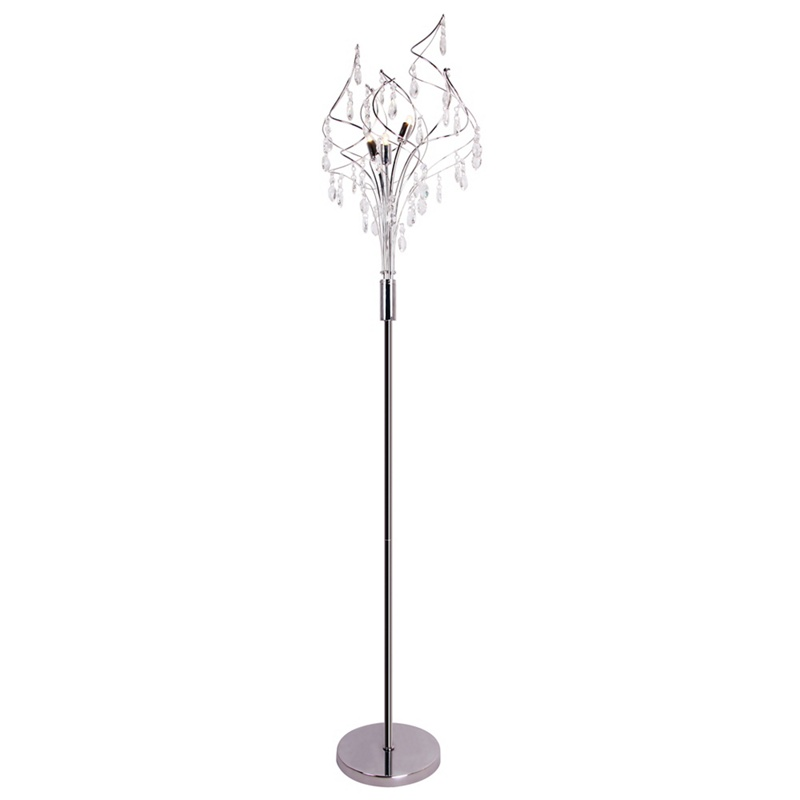 Home Collection – Crystal Glass 'Betsy' Floor Light
