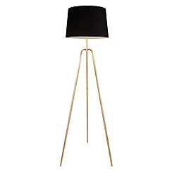 Home Collection - Metal 'Daisy' floor lamp