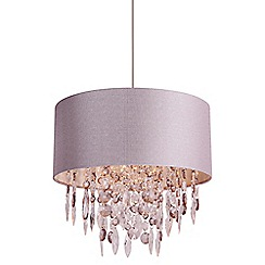 Home Collection - Athena Grey Easyfit Ceiling Shade
