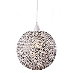 Home Collection - Khloe Crystal Glass Ball Easyfit Ceiling Shade