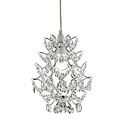 Home Collection - Morgan Crystal Glass Easyfit Ceiling Shade