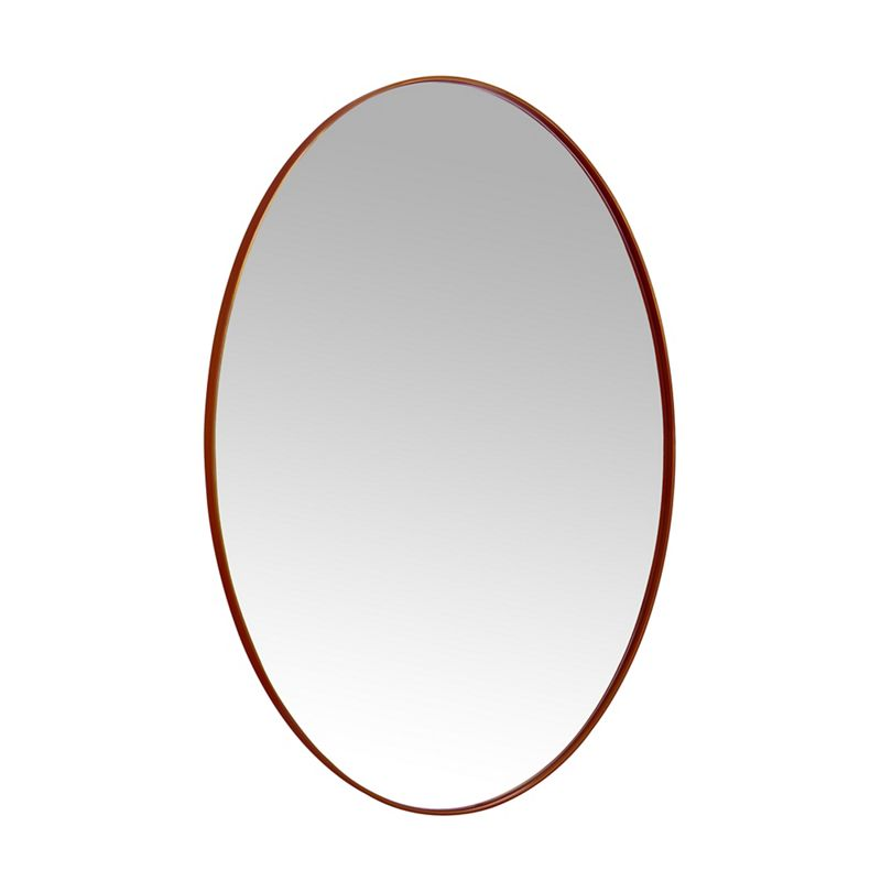 Home Collection - Oval Copper Frame Wall Mirror
