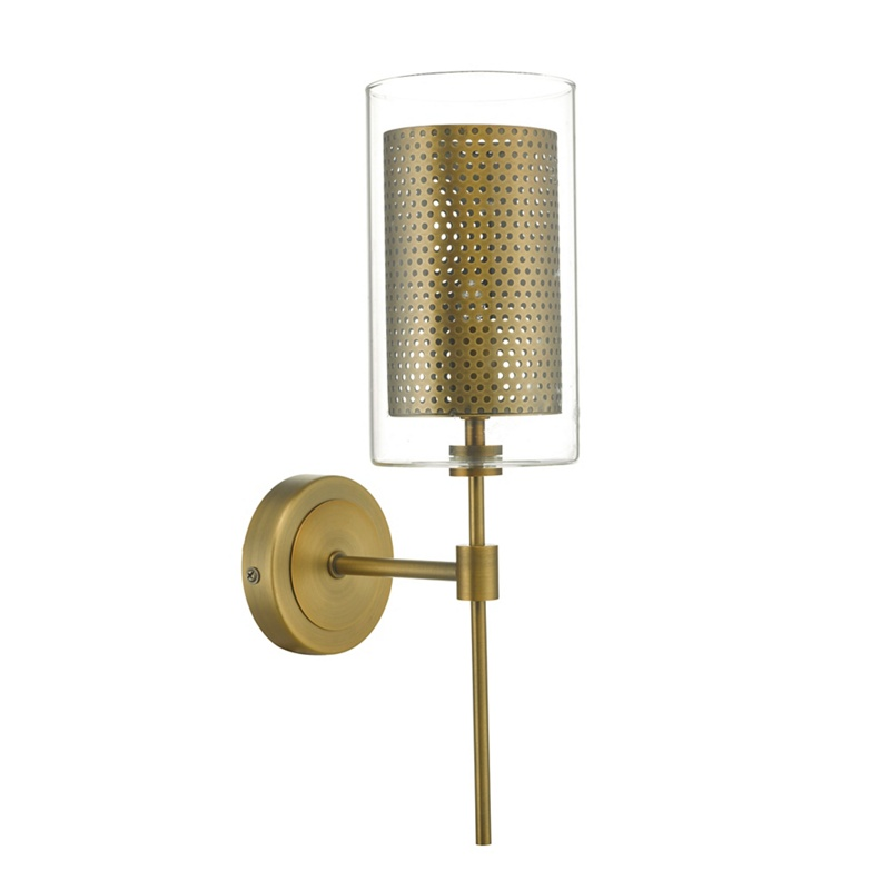 Home Collection – Aged Brass 'Dano' Wall Light