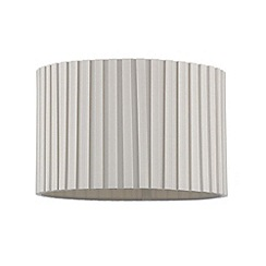 Home Collection - Cream box pleated lamp shade