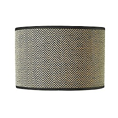 Home Collection - Black tweed lamp shade