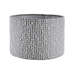 Home Collection - Grey knitted lamp shade