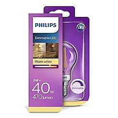 Philips - 40W LED e14 golf ball