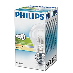 Philips - 28W Edison screw ES halogen bulb