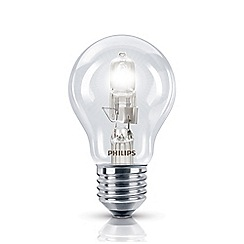 Philips - 42W Edison screw ES halogen bulb