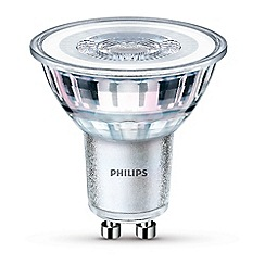 Philips - Pack of 2 5.5W GU10 LED bulbs
