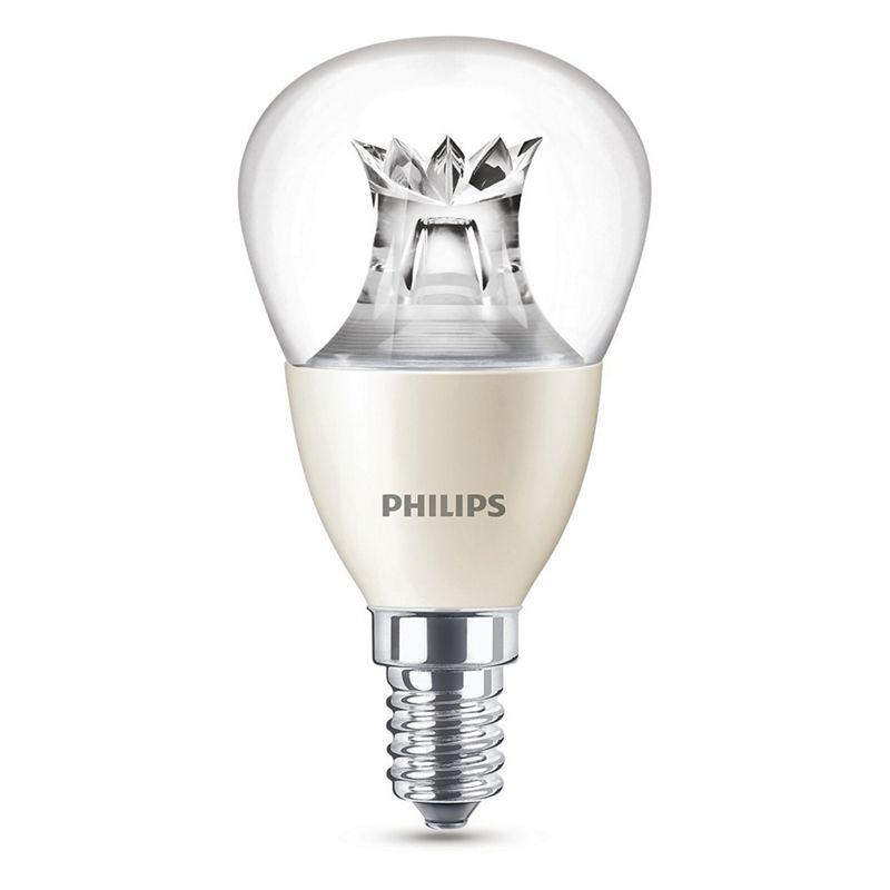 Philips - 6W E14 Small Edison Screw Ses Mini Globe Led Bulb