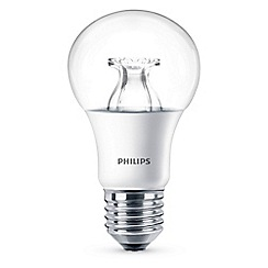 Philips - 8.5W Edison screw ES LED bulb