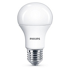Philips - 13W Edison screw ES LED bulb