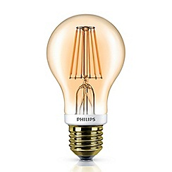 Philips - 7.5W Edison screw ES LED bulb