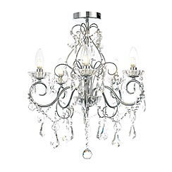 Home Collection - 5 light crystal chandelier