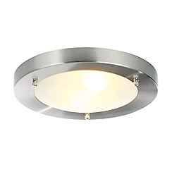 Home Collection - Metal and glass flush ceiling light