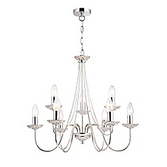 Home Collection - Alexa Champagne Metal Chandelier Light