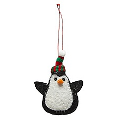 Debenhams - Felt Penguin Hanging Decoration