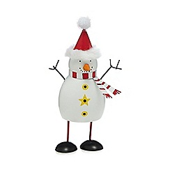 Debenhams - Small Bouncing Snowman Ornament