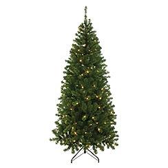 Festive - 5ft Pre-lit Patterson Pine with Warm White Lights