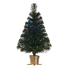 Festive - Green 2ft LED artificial Christmas tree