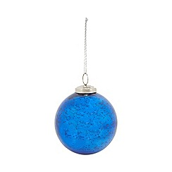 Home Collection - Blue Christmas bauble