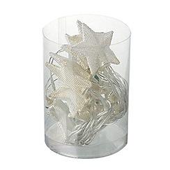 Heaven Sends - Multi-coloured mesh star Christmas lights